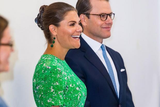 Кронпринцесса Виктория с мужем