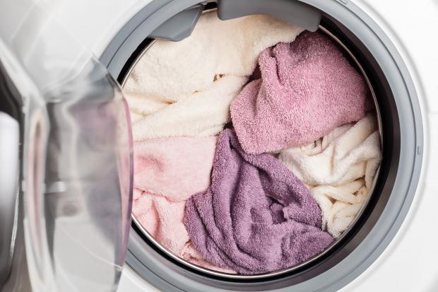 белье в стиральной машине
