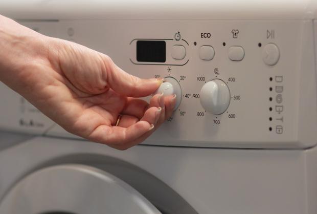 панель управления на стиральной машине