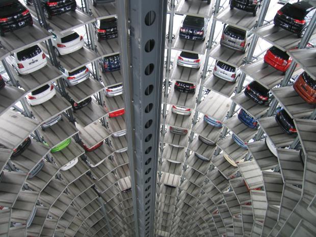 многоэтажная парковка