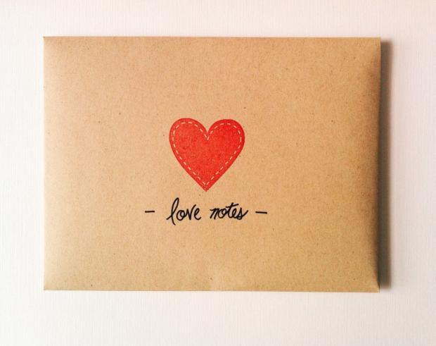 письмо с сердечком