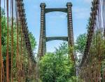 Заброшенный мост в Новой Зеландии