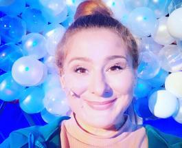 """Юлия Куварзина - """"девушка-весна"""": новые фото звезды сериала """"Не родись красивой"""""""