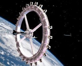 Первый космический отель планирует построить американская компания к 2027 году