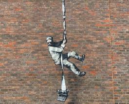 Бэнкси подтвердил авторство нового граффити: видео создания рисунка таинственным художником