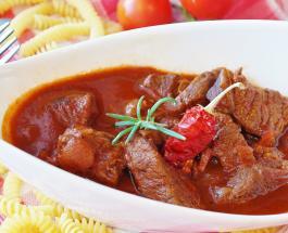 Что приготовить на ужин: рецепт ароматного и пикантного мясного рагу с овощами