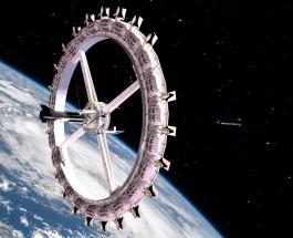 Первый космический отель будет выполнен в виде колеса обозрения: фото концепта