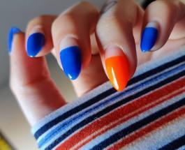 Новый тренд в маникюре: в моду вошли наполовину накрашенные ногти