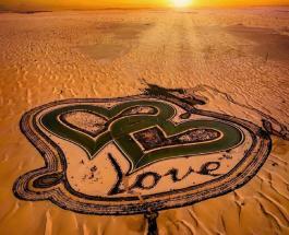 """""""Озеро любви"""" в Дубае: красивые фото романтического места посреди пустыни"""
