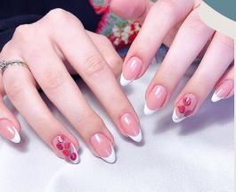 Тюльпаны на ногтях: 15 идей красивого весеннего маникюра