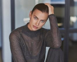 Ирина Шейк в эффектном платье снялась в новой рекламе духов известного бренда