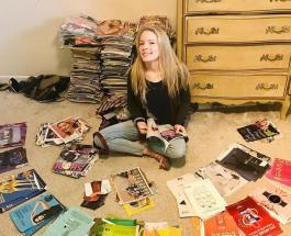 Девушка создает потрясающие картины из старых журналов: яркие работы 19-летней художницы