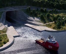 Норвегия построит первый в мире туннель для больших кораблей: цель и стоимость проекта