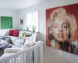 Картины из пузырчатой пленки: художник создает яркие работы используя упаковочный материал