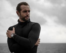 Новый мировой рекорд установил француз проплывший 120 метров подо льдом замерзшего озера