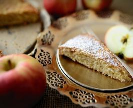 Яблочный пирог на кефире: простой рецепт вкусного десерта для семейного чаепития