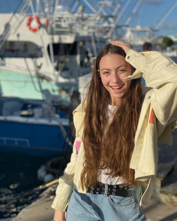 Маша дочь Оли Поляковой
