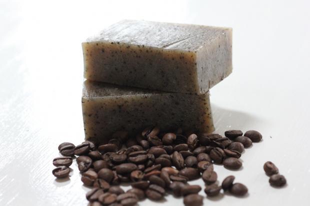 кофейное мыло