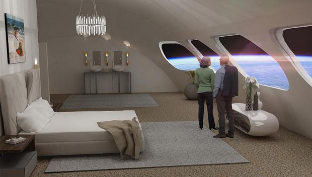 первый космический отель