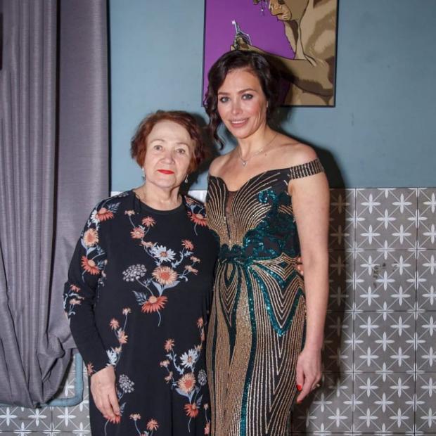 Екатерина Волкова с мамой