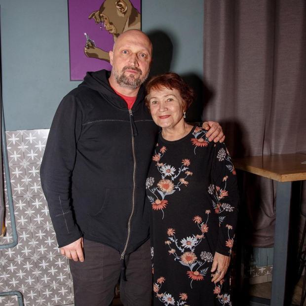 Мама Екатерины Волковой и Гоша Куценко