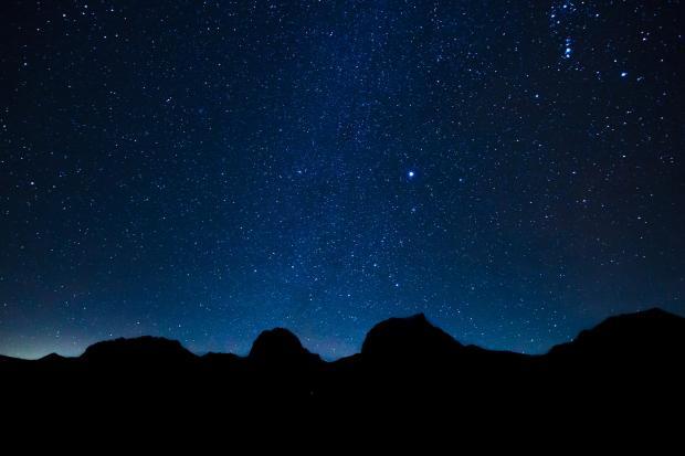 ночное небо, звещды