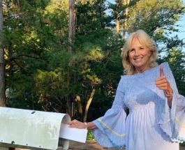 Первоапрельская шутка от Джилл Байден: необычный наряд первой леди США оценили в сети