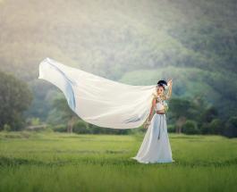 Самая длинная в мире фата: свадебный наряд невесты с Кипра попал в Книгу рекордов Гиннесса