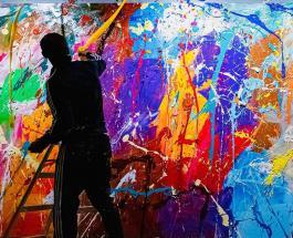 Картину стоимостью около полумиллиона долларов случайно испортили посетители выставки