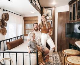 Стильный и комфортный дом на колесах: пара превратила фургон в жилье со всеми удобствами