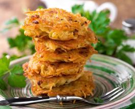 Постные драники из картошки с грибами: рецепт приготовления сытного и аппетитного блюда
