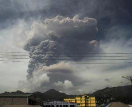 Остров Сент-Винсент остался без электричества из-за извержения вулкана Суфриер