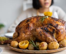 Что приготовить на ужин: рецепт курицы фаршированной яблоками и лимоном