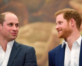 Принц Уильям и принц Гарри пообщались после церемонии прощания с дедушкой