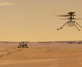 NASA успешно запустила небольшой вертолет на Марсе: новые кадры с Красной планеты