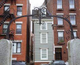 """Дом построенный """"назло"""": фото и история создания самого узкого здания в Бостоне"""