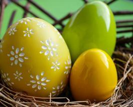Простой способ покрасить яйца в желтый цвет без специальных красителей