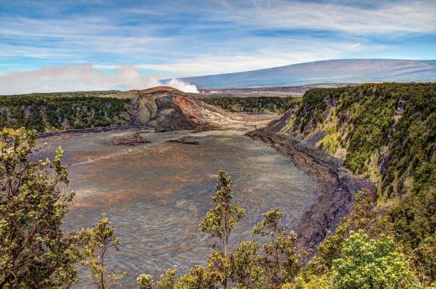 вулкан Мауна-Лоа на Гавайях