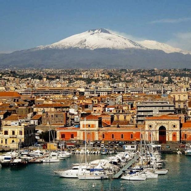 Вулкан Этна в Италии