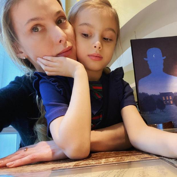 Светлана Иванова с дочерью