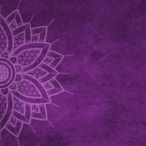 фиолетовая мандала