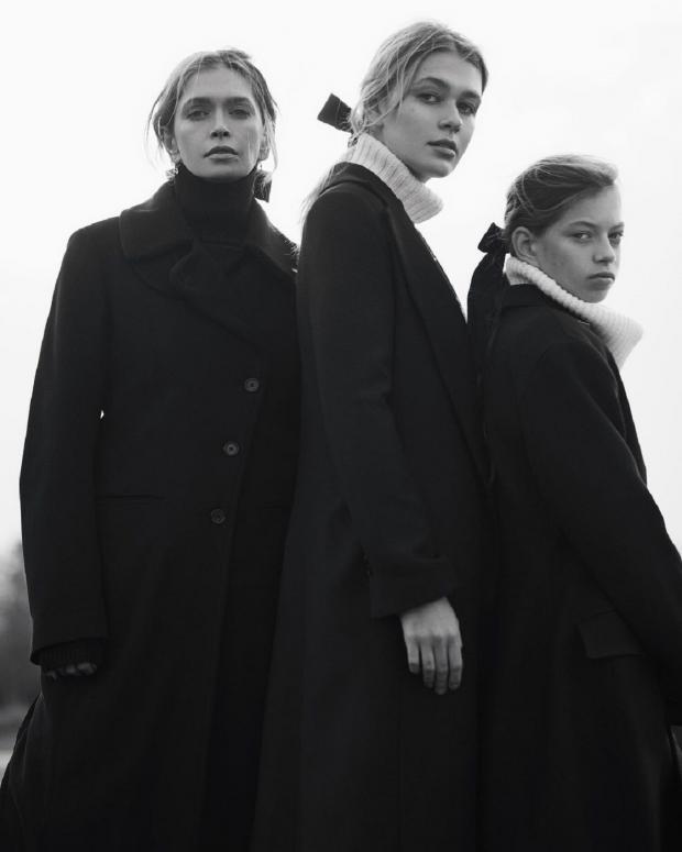 Вера Брежнева с дочерями