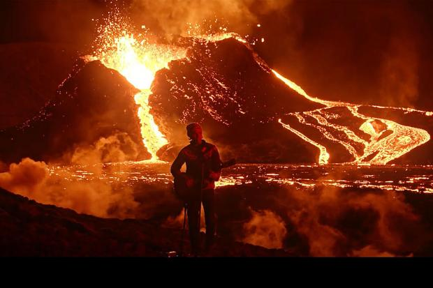 Концерт у вулкана