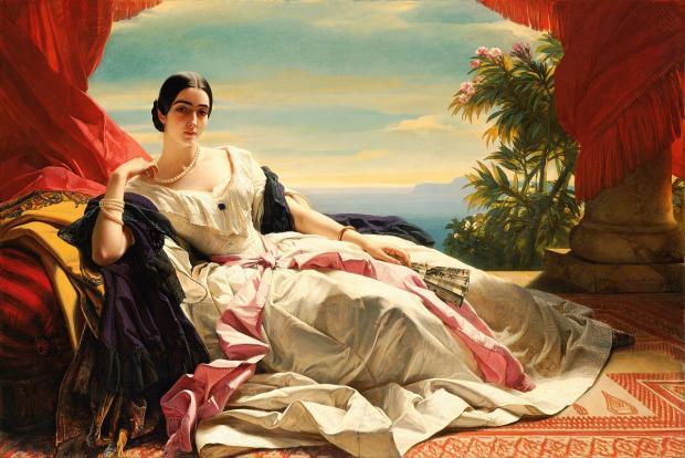 картина художника Франца Винтерхальтера