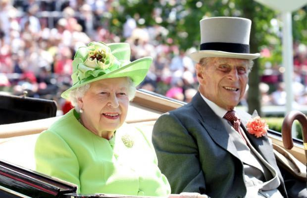 Елизавета и принц Филипп