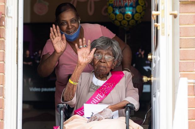 Самая пожилая жительница США