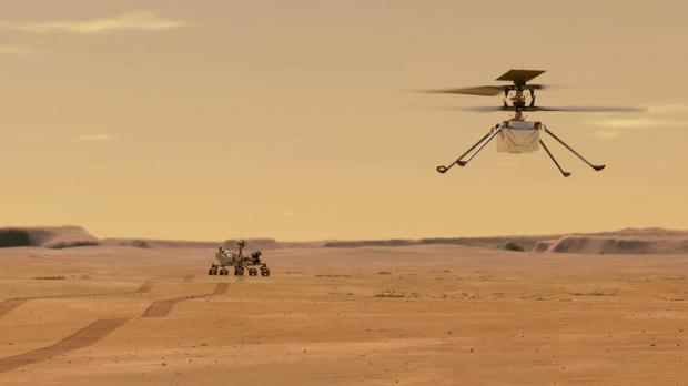 Вертолет на Марсе