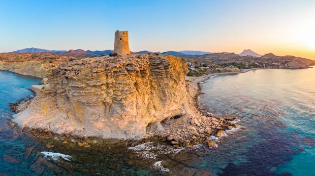 остров, маяк