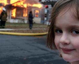 """Героиня мема """"девочка-катастрофа"""" продала свой детский снимок за 473 000 долларов"""