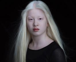 Девушка-альбинос родом из Китая стала моделью: фото 16-летней красавицы Сюэли